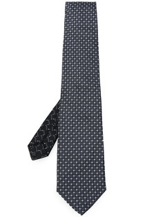 галстук с геометрической вышивкой Etro