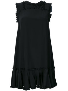 мини-платье с аппликацией Ermanno Scervino