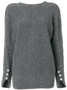 свитер с V-образным вырезом на спине 3.1 Phillip Lim