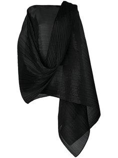 плиссированный топ с шарфом Pleats Please By Issey Miyake