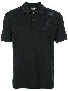 рубашка-поло с вышитым пером павлина Alexander McQueen