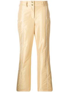 брюки с пуговицами спереди  Fendi