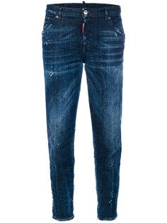 джинсы Hockney с эффектом потертости Dsquared2