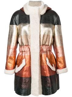 пальто деграде  Fendi