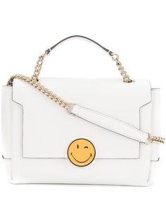 сумка на плечо с украшением в виде смайла Anya Hindmarch