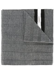 трикотажный шарф в рубчик Bally