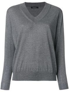 свитер с Vобразным вырезом Roberto Collina