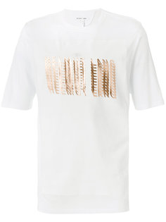 футболка с принтом логотипа Helmut Lang
