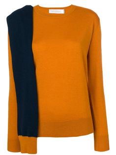 свитер с декоративным шарфом Victoria Victoria Beckham