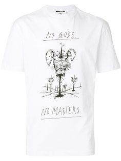 футболка с принтом-наброском McQ Alexander McQueen