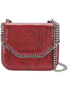 сумка на плечо с тисненым эффектом крокодиловой кожи Falabella Stella McCartney
