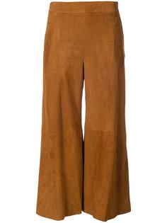 укороченные расклешенные брюки Oscar de la Renta