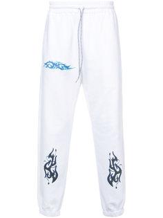 спортивные брюки с принтом Rochambeau