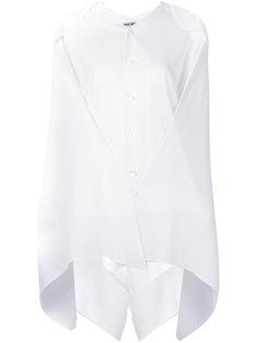 драпированная блузка Issey Miyake