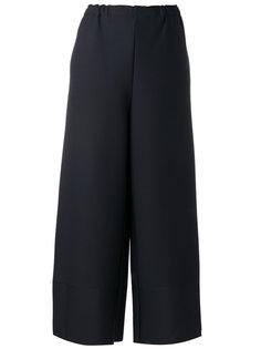 укороченные широкие брюки Issey Miyake