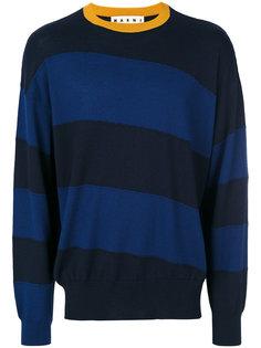 полосатый свитер Marni