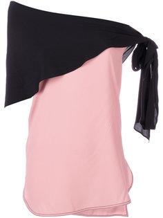 блузка с шарфом  Marni