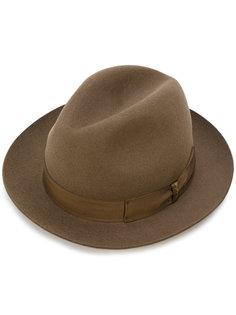 шляпа с узкими полями Borsalino