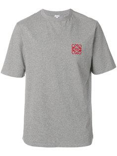 футболка с вышитым логотипом Loewe
