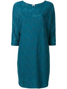 платье шифт с вышивкой  M Missoni