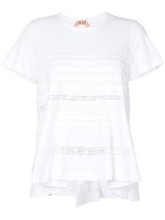 футболка с кружевными вставками Nº21