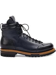 ботинки на шнуровке Silvano Sassetti