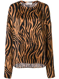 блузка тигровой расцветки Faith Connexion