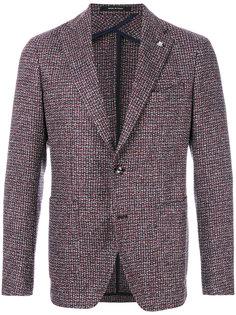 тканый классический пиджак Tagliatore