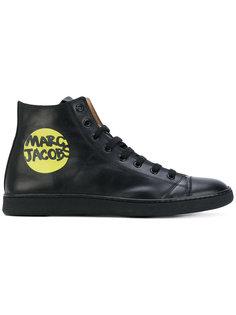 хайтопы на шнуровке Marc Jacobs