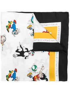 шарф с принтом Stella McCartney