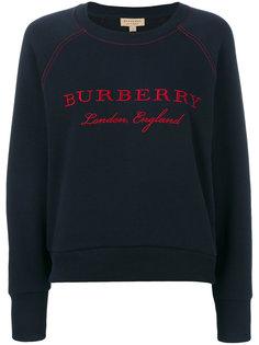 джемпер с логотипом  Burberry