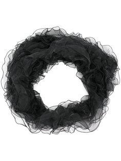 шарф с рюшами Armani Collezioni