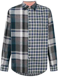 контрастная клетчатая рубашка Ps By Paul Smith
