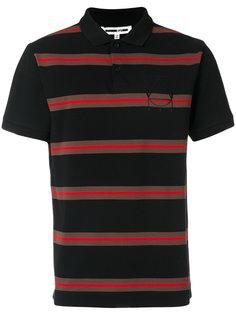полосатая рубашка-поло McQ Alexander McQueen