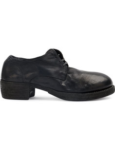 броги на каблуке Guidi