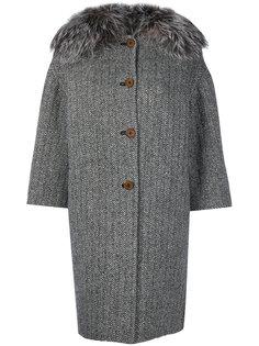 пальто с укороченными рукавами  Ermanno Scervino