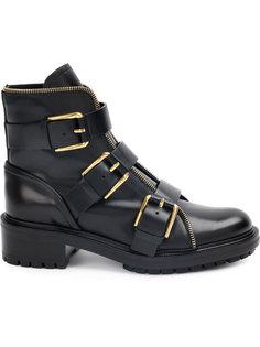 ботинки с пряжками Balmain