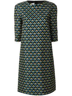платье шифт с принтом  Marni