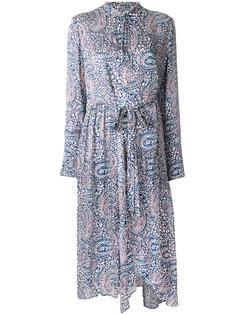 платье с длинными рукавами с принтом пейсли Christian Wijnants