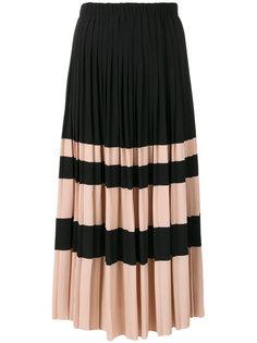 плиссированная юбка миди  Nº21