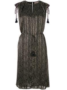 приталенное платье с кисточками Michael Michael Kors