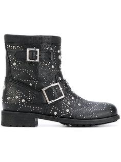 байкерские ботинки Youth Jimmy Choo
