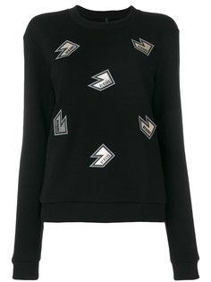 свитер с аппликацией  Versus