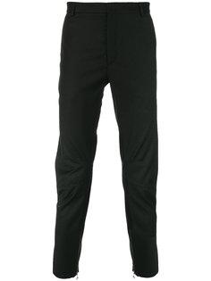 классические брюки с манжетами на молниях Lanvin
