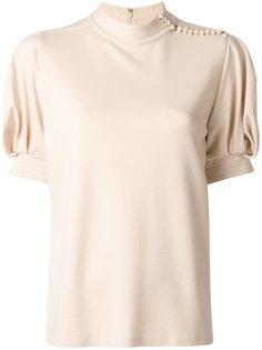 блузка с буффами на рукавах Chloé