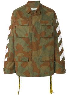 куртка-карго с камуфляжным узором Off-White