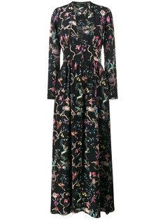 длинное платье с принтом  Etro