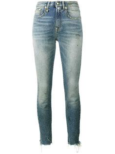 джинсы средней посадки Jenny R13
