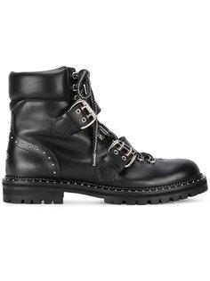 байкерские ботинки Jimmy Choo