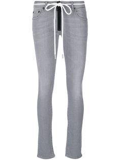 джинсы скинни на молнии  Off-White